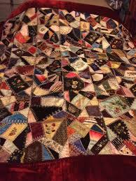 Museum quality 1883 silk Victorian crazy quilt | Victorian ... & Museum quality 1883 silk Victorian crazy quilt Adamdwight.com