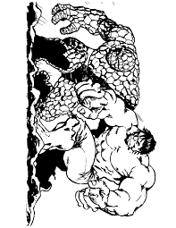 Small Picture Strong Incredible Hulk Coloring Page H M Coloring Pages