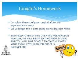 abby sunderland argumentative essay ppt video online  tonight s homework complete the rest of your rough draft for our argumentative essay we will