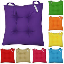 flat chair pads indoor chairs kitchen with ties cool dining seat pad tie cushions medical lift