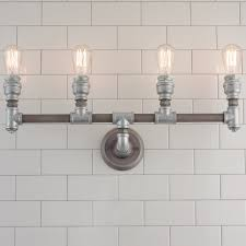 vintage bathroom lighting. Vintage Bathroom Vanity Lights Lovely Lighting Industrial Chic Rustic Farmhouse Bath H