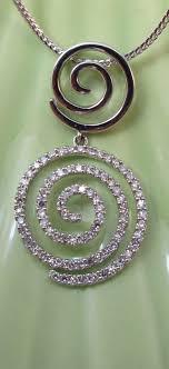 diamond swirl pendant 14k white gold home diamond pendants necklaces diamond pendants and necklaces diamond swirl pendant 14k white gold