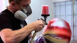 Brett King Design Helmet Brett King Design Custom Helmet Painter
