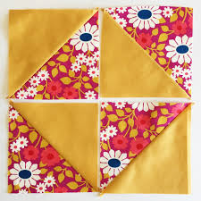 """Broken Dishes Quilt Block Tutorial - Simple Simon and Company & But the block I wanted was a traditional """"Broken Dishes"""" pattern which  places the Half Square Triangles in a pattern where the triangles reflect  each other ... Adamdwight.com"""