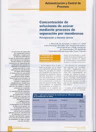 Concentraci N De Soluciones De Az Car Mediante T Cnicas De