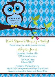 Baby Boy Shower Invitation Owl Owls Invitation By DesignedByJae Owl Baby Shower Invitations For Boy