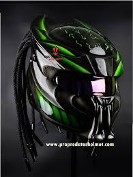 Predator Motorcycle Helmet Designs Pro Predator Motorcycle Helmet Bone Grill Predator Sy43