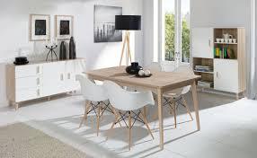 Esszimmer Komplett Set Kea 3 Teilig Eiche Weiß