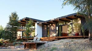 Northern California home by Klopf Architecture designed to keep a  low-profile