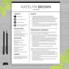Resume For Teachers Template 51 Teacher Templates Free Sample