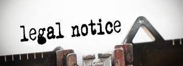 Mode of Service of Legal Notice Under Section 138 of N.I.Act,18s1