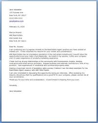 Cover Letter For Real Estate Job 14 Examples Techtrontechnologies Com
