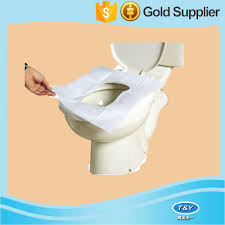 Disposable Toilet Disposable Hygienic Toilet Seat Cover Paperself Adhesive Toilet