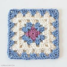 Easy Crochet Granny Squares Free Patterns Enchanting Easy Classic Granny Square AllFreeCrochet