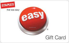 check staples gift card balance