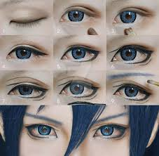 anime eye cosplay eye makeup cosplay eyes makeup tutorial for shonen mollyeberwein on deviantart