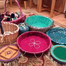 Mehndi Tray Decoration Homemade Mehndi thaals and baskets Wedding ideas Pinterest 25