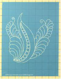 "Amazon.com: Pounce Pad Stencil for Quilting (7"" x 7.5"") - Dream Feather:  Elegant Bird by Peggy Holt"