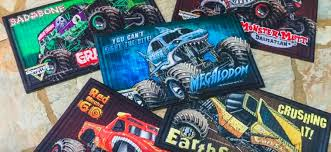 whole licensed monster jam door mat