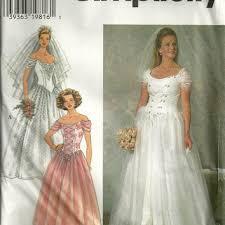 Simplicity Wedding Dress Patterns Fascinating Best Simplicity Wedding Dress Patterns Products On Wanelo