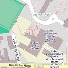 École élémenre privée saint françois sur une carte 94700 maisons alfort