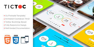countdown templates tictoc coming soon countdown template by creative_era themeforest