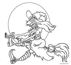 Children can try to color various halloween characters with the help of parents. Free Printable Halloween Coloring Pages For Kids