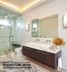 Image Fabulous Contemporary Bathroom Lights And Lighting Ideas Asidtucsonorg Contemporary Bathroom Lights And Lighting Ideas Bathroom Shower
