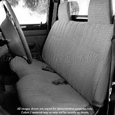 Amazon.com: Toyota Tacoma Front Solid Bench Gray Seat Covers Triple ...