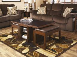 Furniture Beauty Living Room Table With Stools Coffee Table With - Coffee table with chair