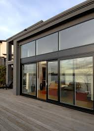 dramatic sliding doors separate. Dramatic Sliding Doors Separate. Unique Metal Clad Separate M