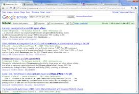 Google Scholar And Full Text Of Articles Business Research