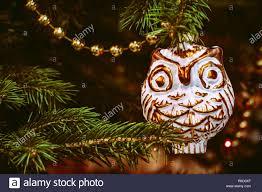 Retro Christbaumschmuck Eule Oder Uhu Weihnachtsbaum