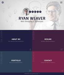 Insurgent - Personal Vcard Resume HTML Template