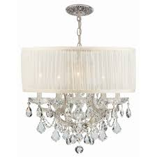 large drum shade chandelier very beautiful drum shade chandelier large drum shade chandelier
