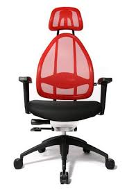 desk swivel chair. Back Supporting Swivel Desk Chair With Red Mesh