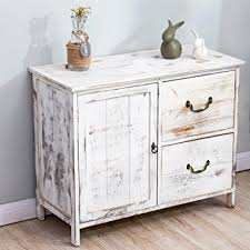 white furniture shabby chic. Cherry Tree Furniture Distressed White Paulownia Wood Shabby Chic Sideboard Storage Cabinet