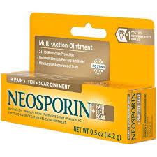 Neosporin <b>Multi</b>-<b>Action</b> + <b>Pain Itch Scar</b> First Aid Antibiotic/<b>Pain</b> ...