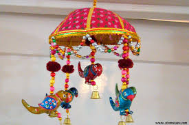 Small Picture Buy Home Decor Door Hanging Rajasthani Birds In An Umbrella