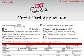 How does applying for a credit card impact credit? Credit Card Application Forms First State Bank
