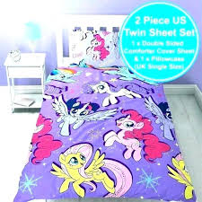 home improvement my little pony bedding twin set my little pony bedding