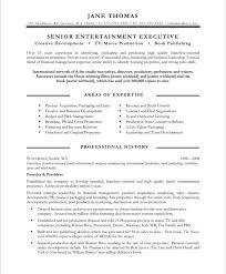 Entertainment Resume Template