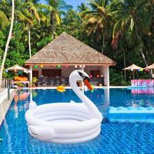 harga inflatable baby swimming pool piscina portable outdoor children basin bathtub white swan kids pool baby