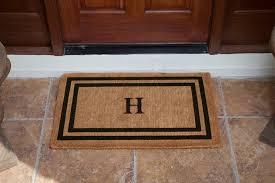 front door matmonogram doormat info  Simple Diy Monogram Doormat Tips  Home