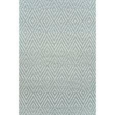 diamond light blue ivory indoor outdoor rug