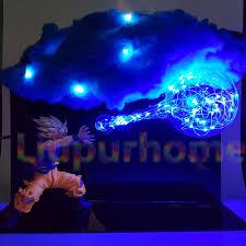 How To Make Cloud Lights Us 76 0 Dragon Ball Son Goku Kamehameha Diy Led Lights Bulb Lamp Dragon Ball Z Goku Super Saiyan Led Cloud Night Lights For Gift In Led Night Lights
