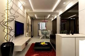 Beauteous Sleek Interior Design For Living Room And Dining Room - Modern interior design dining room