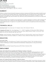 Technical Resume Template Pdf Example Writer Best Samples About Custom Best Technical Writer Resume