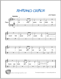 Download the free river flows in you sheet music. Amazing Grace Free Beginner Piano Sheet Music