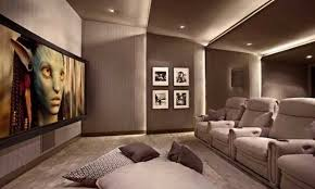 Home Theatre Interior Design Model